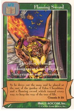 Flaming Sword - Warriors