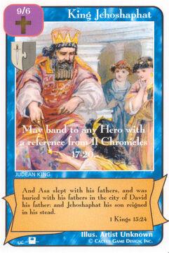 King Jehoshaphat (Pi) - Priests