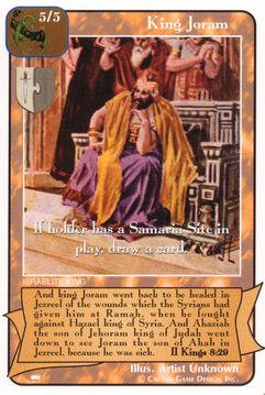 King Joram - Kings
