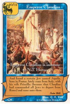 Emperor Claudius - Apostles