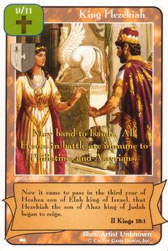 King Hezekiah - Kings