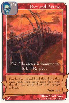 Bow and Arrow (Gray) (Wa)