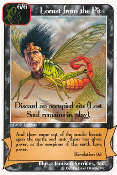 Locust from the Pit - G Deck