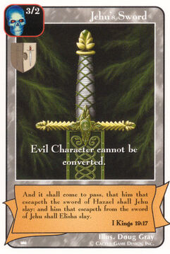 Jehu's Sword - Kings
