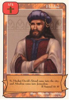 Hushai (A)