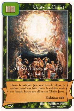 Unity in Christ (Ap)