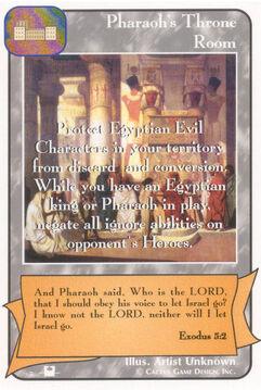 Pharaoh's Throne Room (Pi) - Priests