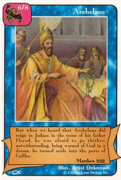 Archelaus - Apostles