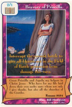 Bravery of Priscilla - Women