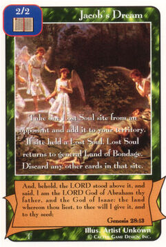 Jacob's Dream - Patriarchs