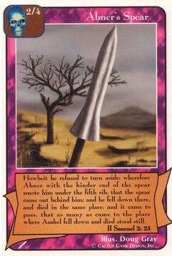 Abner's Spear - Warriors