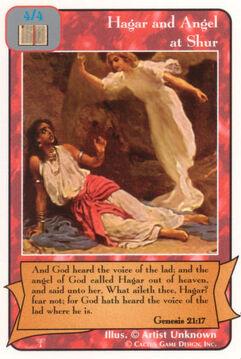 Hagar and Angel at Shur - Patriarchs