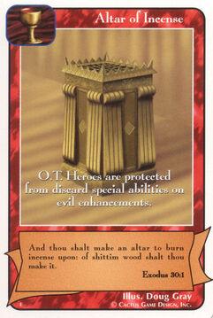 Altar of Incense - E Deck