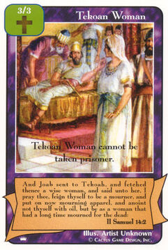 Tekoan Woman - Kings