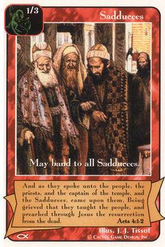 Sadduccees (4) - Apostles