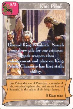 King Pekah - Kings
