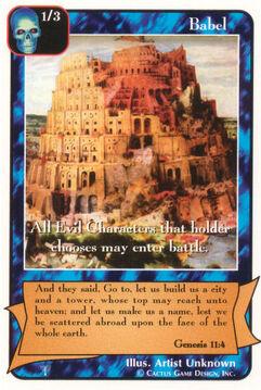 Babel - Patriarchs
