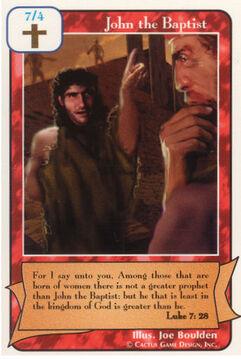 John the Baptist - Prophets