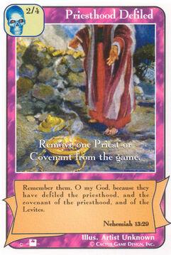 Priesthood Defiled (Pi) - Priests
