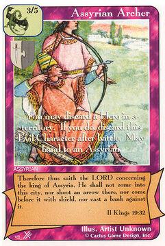 Assyrian Archer (FF) - Faith of Fathers