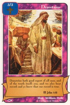 Demetrius - Apostles