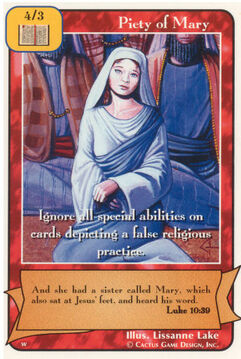 Piety of Mary - Women