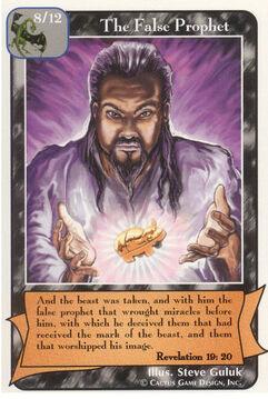 The False Prophet - Prophets