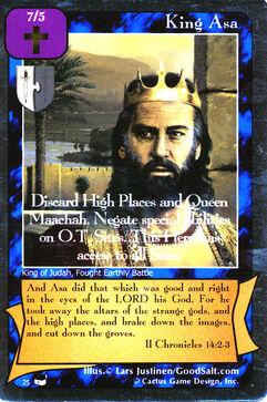 King Asa - Thesaurus