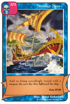 Stormy Seas - E Deck