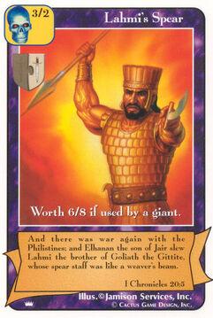 Lahmi's Spear - Kings