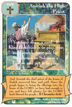 Azariah the High Priest (Pi)