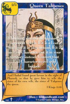 Queen Tahpenes - Rock of Ages