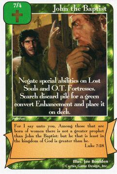 John the Baptist (Di)