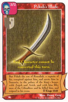 Pekah's Blade - Kings