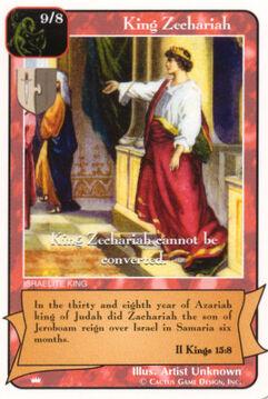 King Zechariah - Kings
