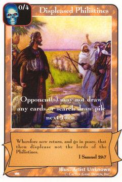 Displeased Philistines - Kings