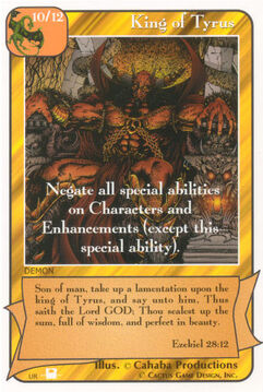 King of Tyrus (Pi) - Priests