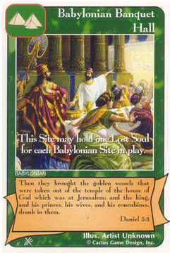 Babylonian Banquet Hall (FF) - Faith of Fathers