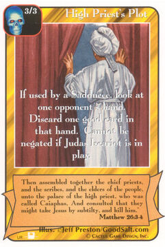 High Priest's Plot (Pi) - Priests