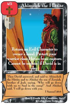 Ahimelek the Hittite (RA2)