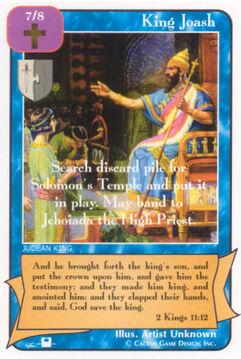 King Joash (Pi) - Priests