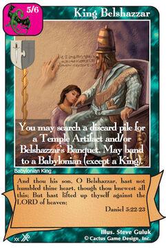 King Belshazzar (FF2)