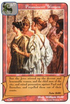 Prominent Women - Apostles