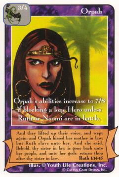 Orpah - Patriarchs