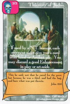 Thievery of Judas (Di)