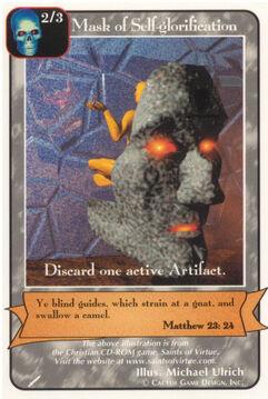 Mask of Self-glorification - Warriors