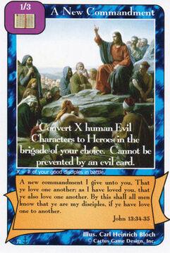 A New Commandment (Di)