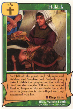 Huldah - Prophets