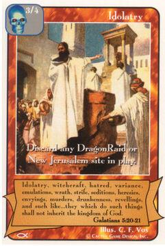 Idolatry - Apostles