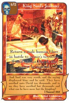 King Saul's Jealousy - Kings